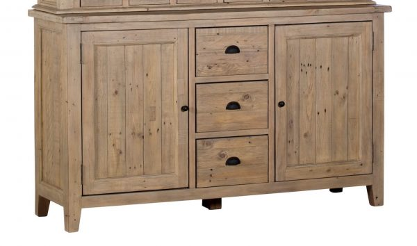 Ellora Traditional Wide Sideboard with 3 Central Drawer