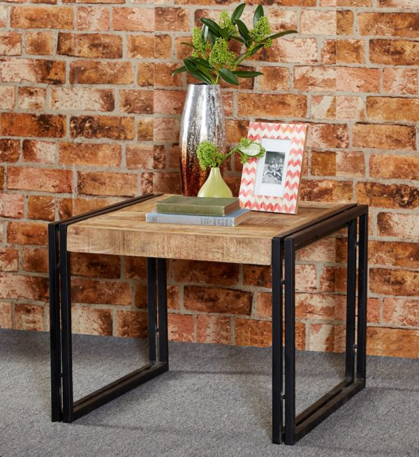 Luna Industrial Small Coffee Table