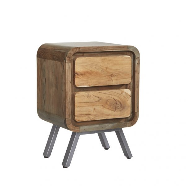 Otto 2 Drawer Lamp Table