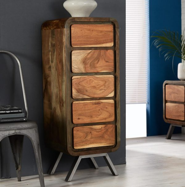 Otto 5 Drawer Tall Chest