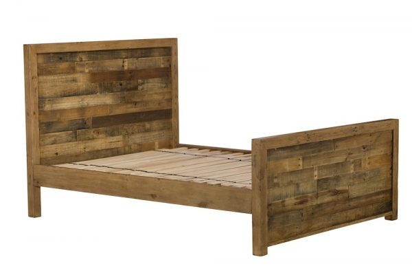 Reclaimed Industial Super King 180cm Bed