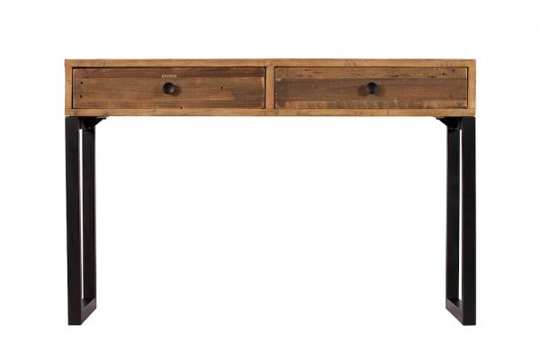 Reclaimed Industial Console Table