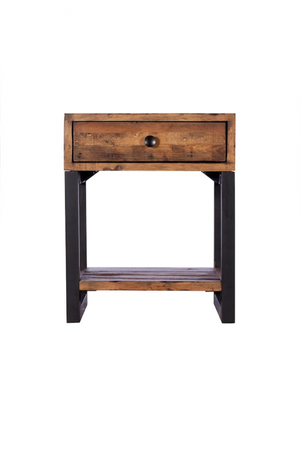 Reclaimed Industial Lamp Table
