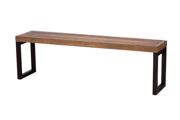 Reclaimed Industial 155cm Bench