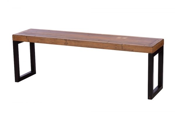 Reclaimed Industial 140cm Bench